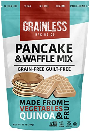 Amazon Com Grainless Grain Free Pancake Mix Grain Free