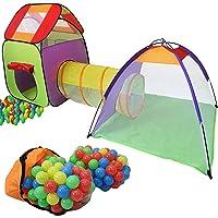 KIDUKU 3 en 1 Iglú infantil para juegos / Tienda de campaña para niños + Túnel