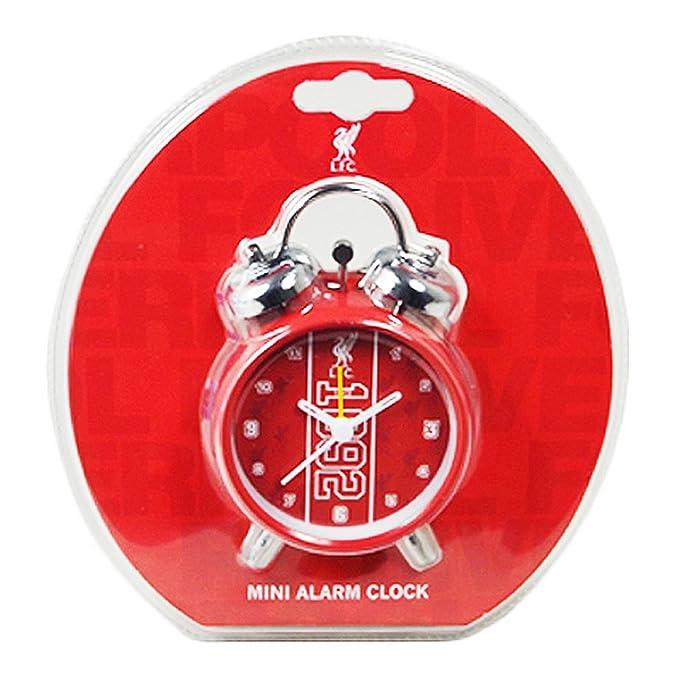 Liverpool FC oficial establecido Twin Bell Reloj despertador con el escudo del