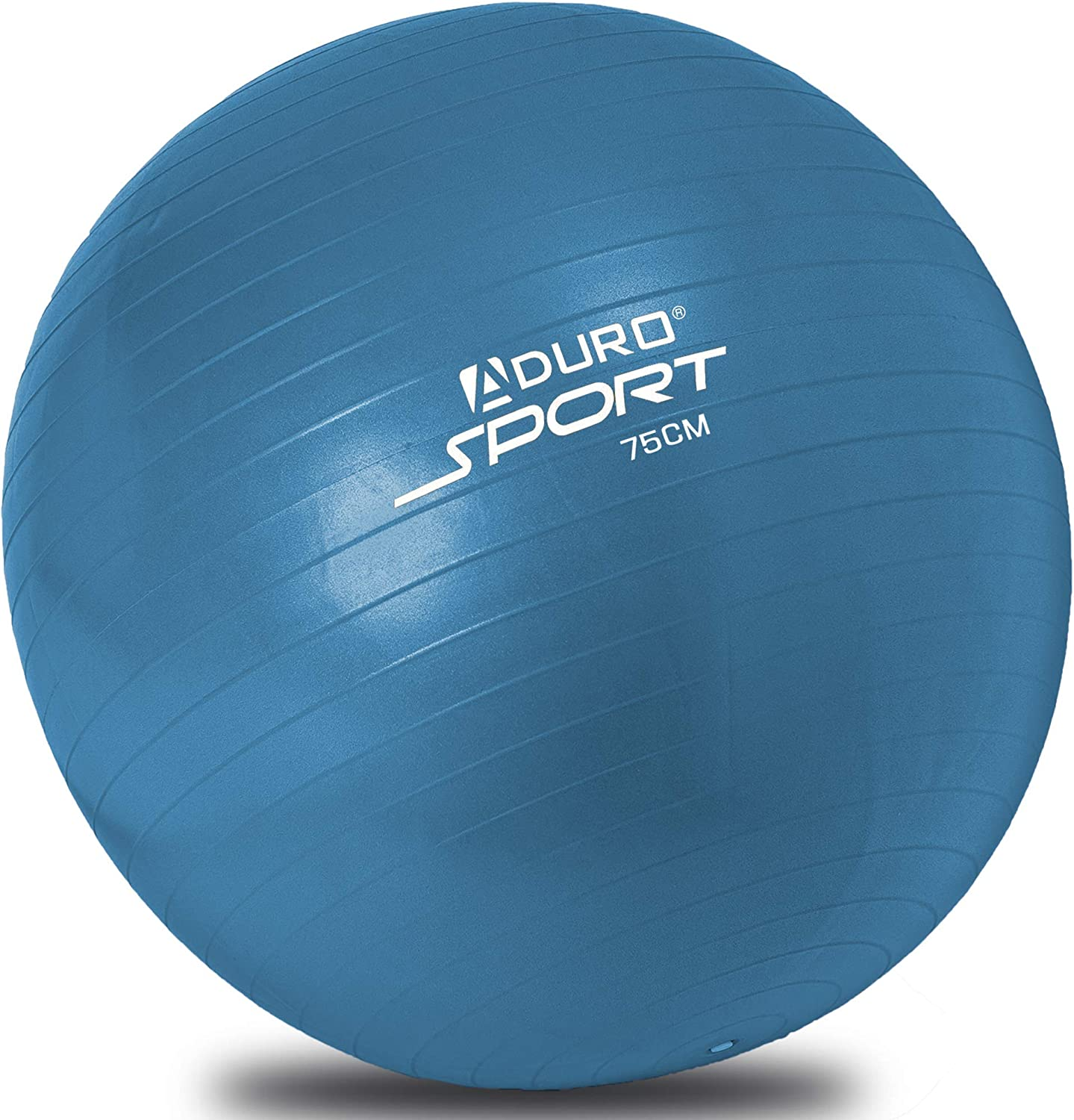 Aduro Sport Yoga Exercise Ball, 55 65 75cm Workout Fitness Ball Chair with Anti-Burst Non-Slip Surface