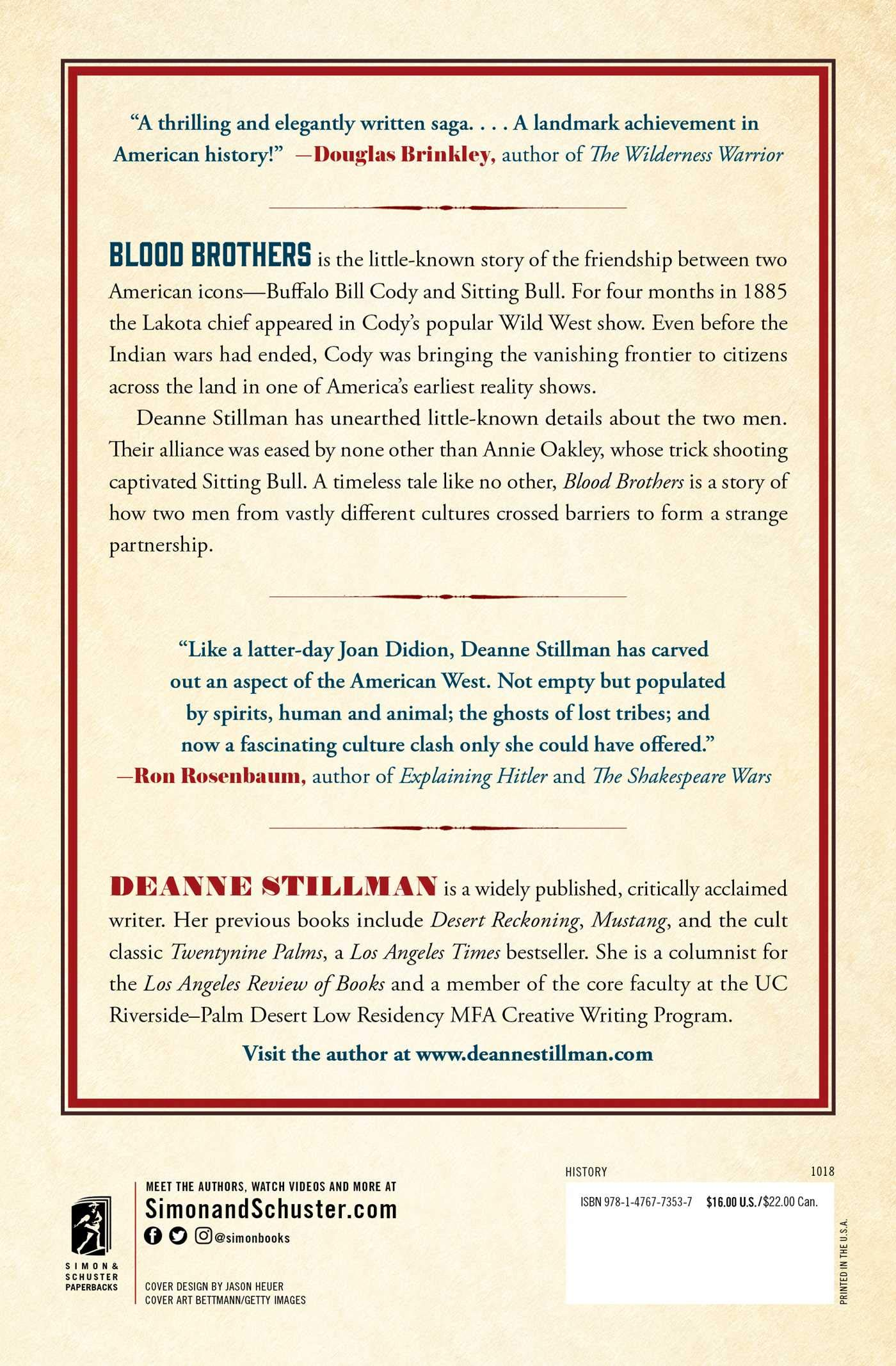 Blood Brothers: The Story of the Strange Friendship between ...