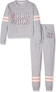 New Look Twosie Girl Squad, Conjuntos de Pijama para Niñas