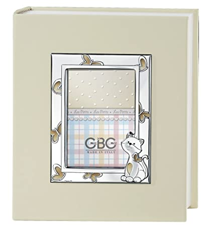 Amazon.com: Photo Album and Journal with Frame 9 x 13 Kitten ...