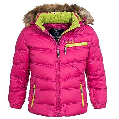 Winterjacke 104 rosa
