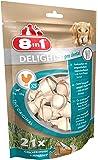 8 in 1 Delights Dental XS - Os de bœuf à Mâcher pour Chien de Petite Taille - Enrichi en minéraux - Longue durée - Viande à cœur - Prodental Limite le Tartre - Sans céréales Colorant Arôme Artificiel - 21 pièces