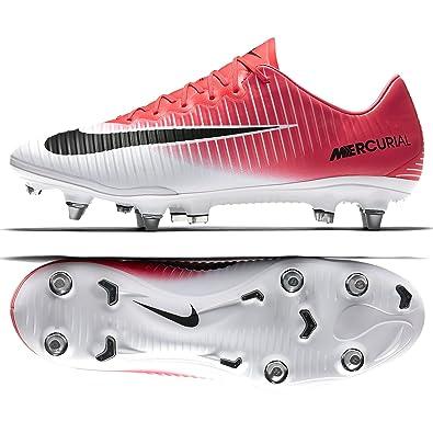 on sale da093 170aa Nike Mercurial Vapor XI SG-PRO 831941-601 Pink/White Men's ...