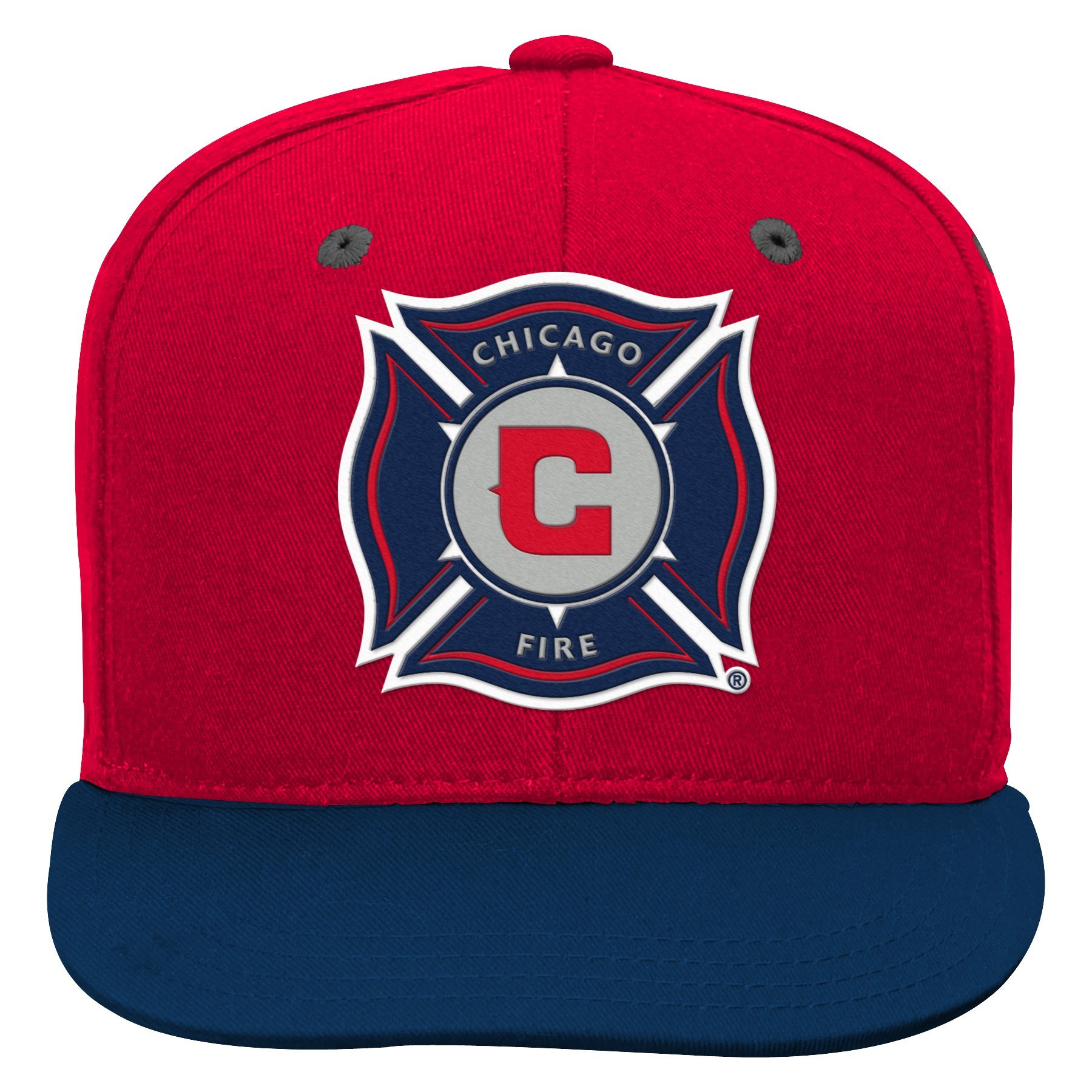 Outerstuff MLS Chicago Fire Boys Flat Visor Snapback, Red, One Size (8)
