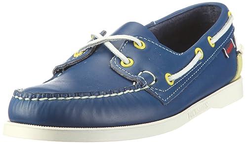 Mens Spinnaker Shoes B73438 Blue/Limeade 10 UK Sebago OLsWCjdB
