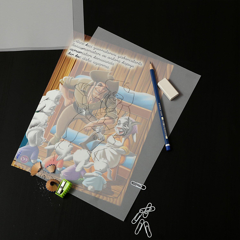 Tritart Transparentpapier Bedruckbar Weiß DIN A4 | 125 Blatt 100g/qm ...