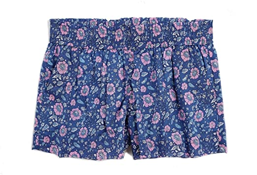 fc79fa0ca7cad2 J.Crew Women s - Floral Pull-on Shorts at Amazon Women s Clothing store