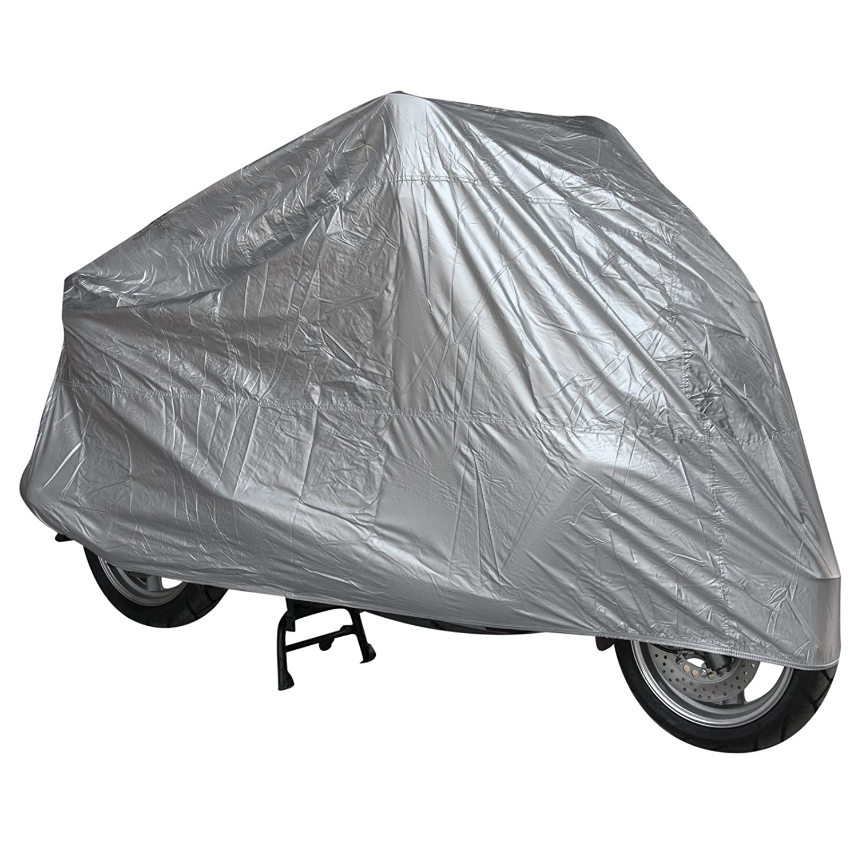 Telo Copri Moto Scooter Naked Customo Impermeabile PVC Universale Argento S A-PRO 5180000084233