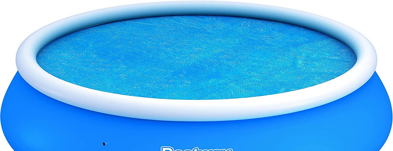 Bestway Solarabdeckplane Ø3 m für Fast Set Pool, Ø366 cm Ø366 cm BW58062