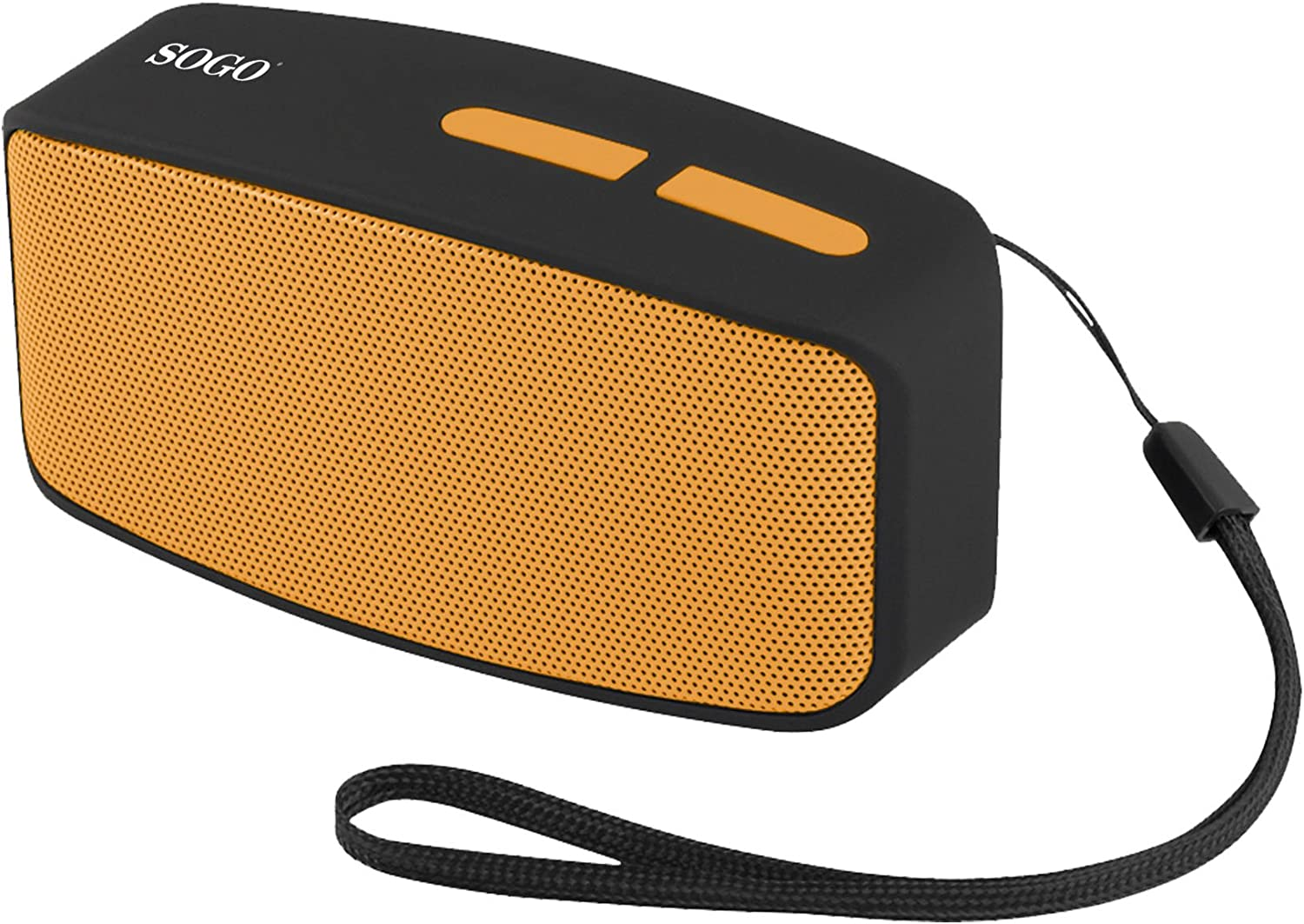 Sogo SS-8215-O - Altavoz portátil con Bluetooth, Radio FM, AUX IN, USB, Micro SD, Color Amarillo: Amazon.es: Electrónica