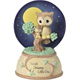 Precious Moments 162102 Sweet Dreams Little One, Resin Music Box,Multi-color