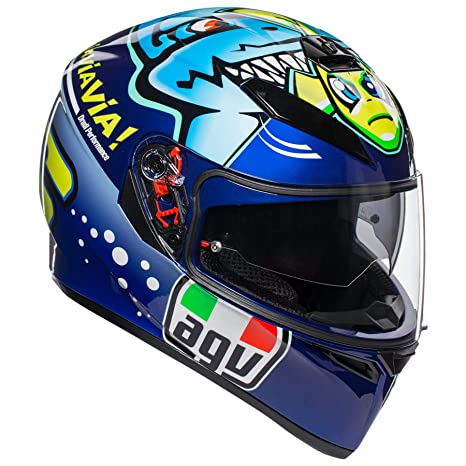 AGV Unisex-Adult Full Face K-3 SV Misano 2015 Shark Motorcycle Helmet Multi Large