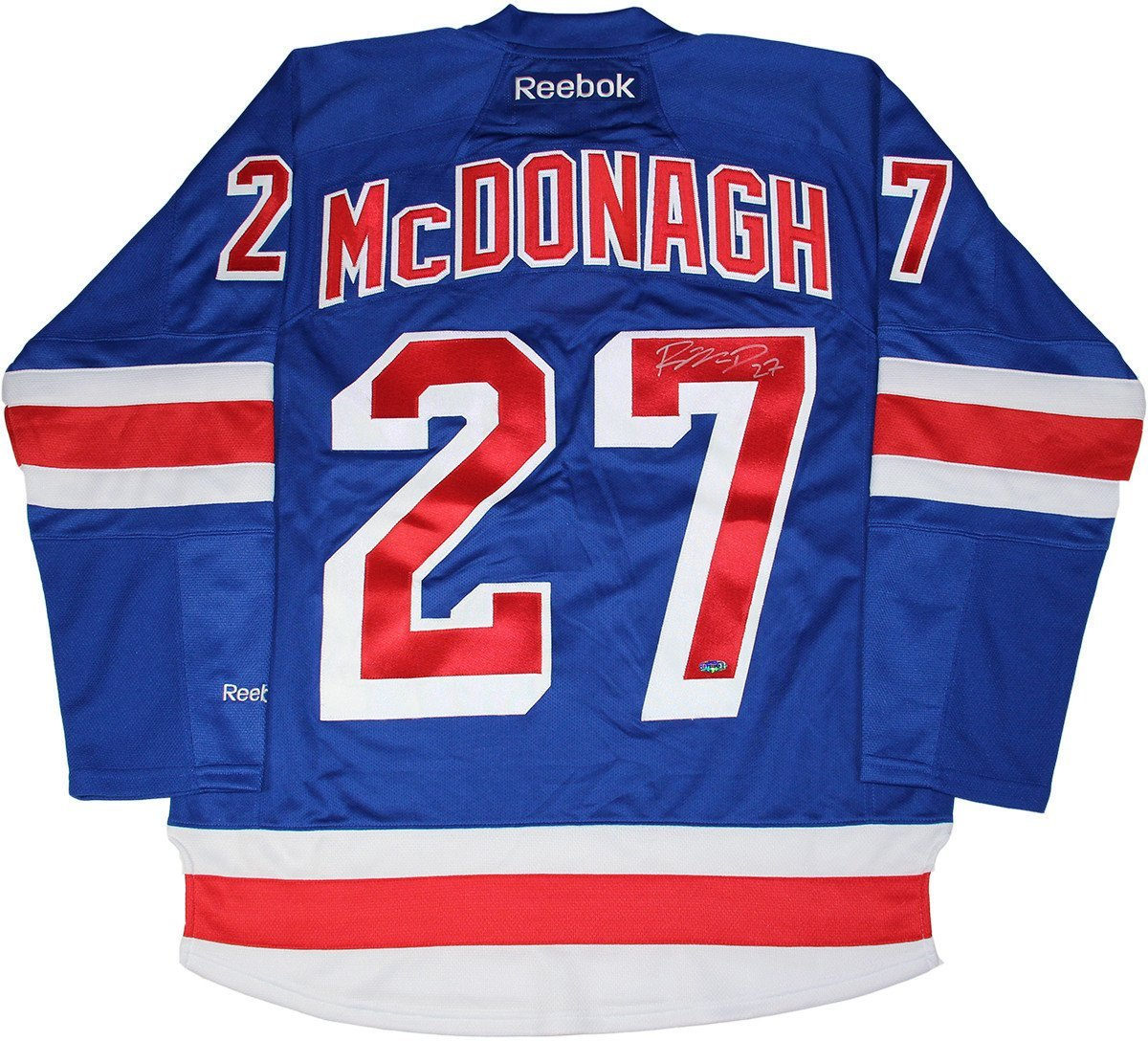 Ryan McDonagh Signed New York Rangers Blue Jersey w Captain C at Amazon s  Sports Collectibles Store a9ad5fdaf