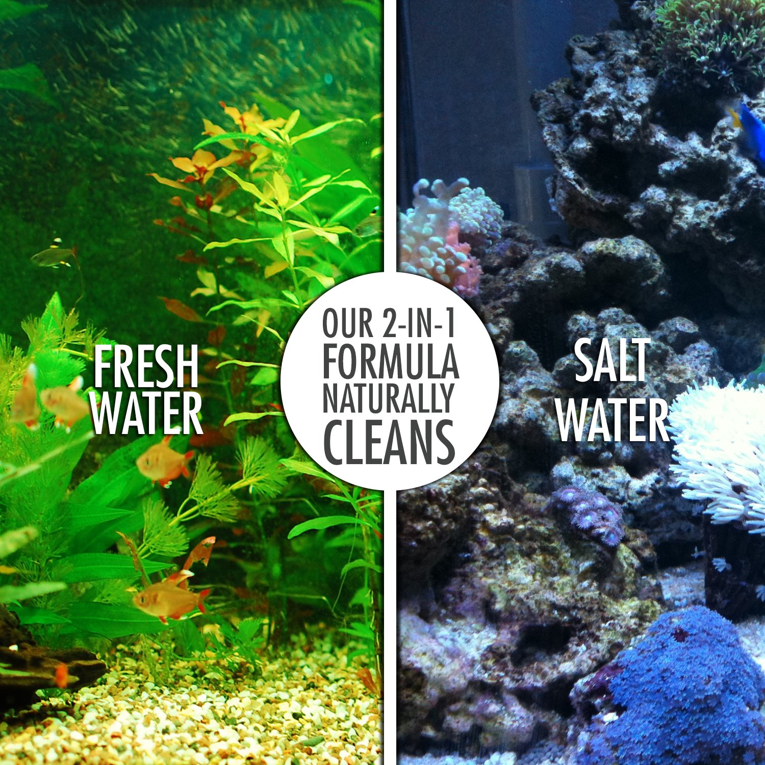 Amazon Natural Rapport Fish Tank Cleaner Freshwater