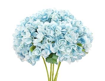 Fiveseasonstuff 5 Piezas 47cm Flores Artificiales De