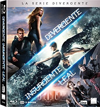 cc1e98b5cf The Divergent Series PACK DIVERGENTE + INSURGENTE + LEAL, Spain Import, see  details for languages: Amazon.co.uk: Shailene Woodley, Theo James, Jeff  Daniels, ...