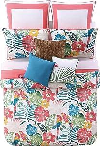 Oceanfront Resort CS1964KG-1500 Cotton Comforter Set, King, Coco Paradise