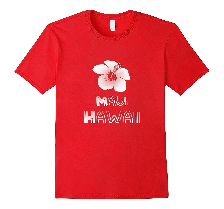 Maui Hawaii Hibiscus Flower T-Shirt-T-Shirt