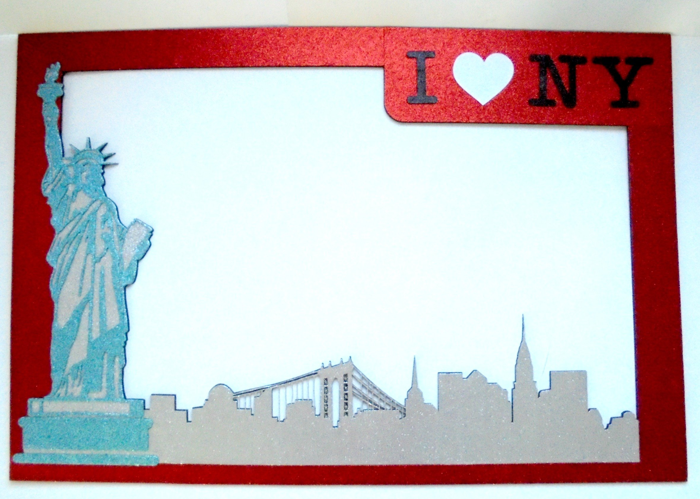 Frame New York Party props I love New York