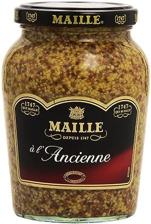Maille Mostaza a la Antigua - 4 Paquetes de 280 gr - Total: 1120 gr