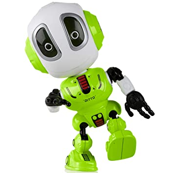 Amazon Com Toy Robots For Boys Or Girls Ditto Mini Talking Robots