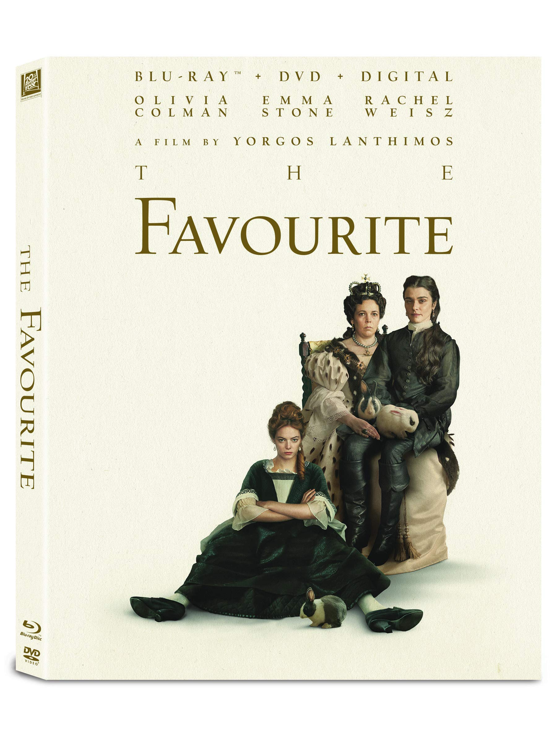 Blu-ray : The Favourite (With DVD, Digitally Mastered in HD, 2 Pack)