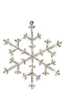 Star Trading ICY Apto para uso en interior 30lámpara(s) LED Transparente - Iluminación decorativa (30 lámpara(s), LED, Blanco, 1,8 W, Transparente, IP20)