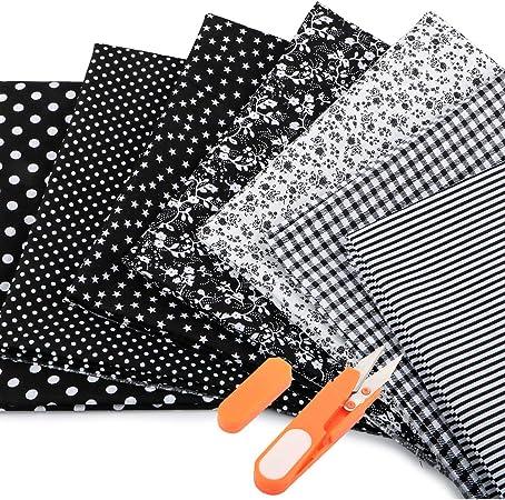 Rétro ampoules 100/% Coton Tissu pour la couture /& QUILTING