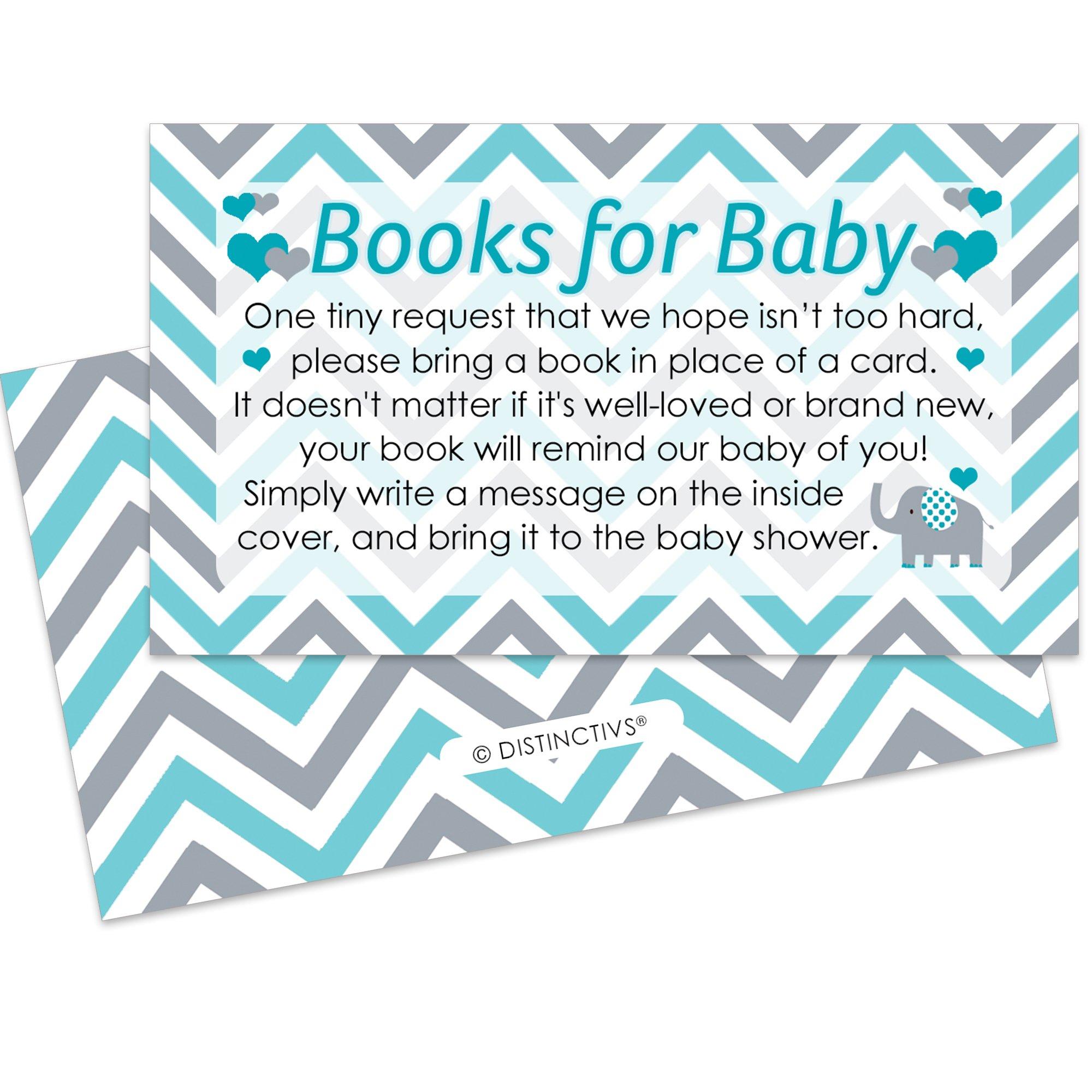 Amazon Diaper Raffle Tickets Teal Blue Elephant Baby Shower