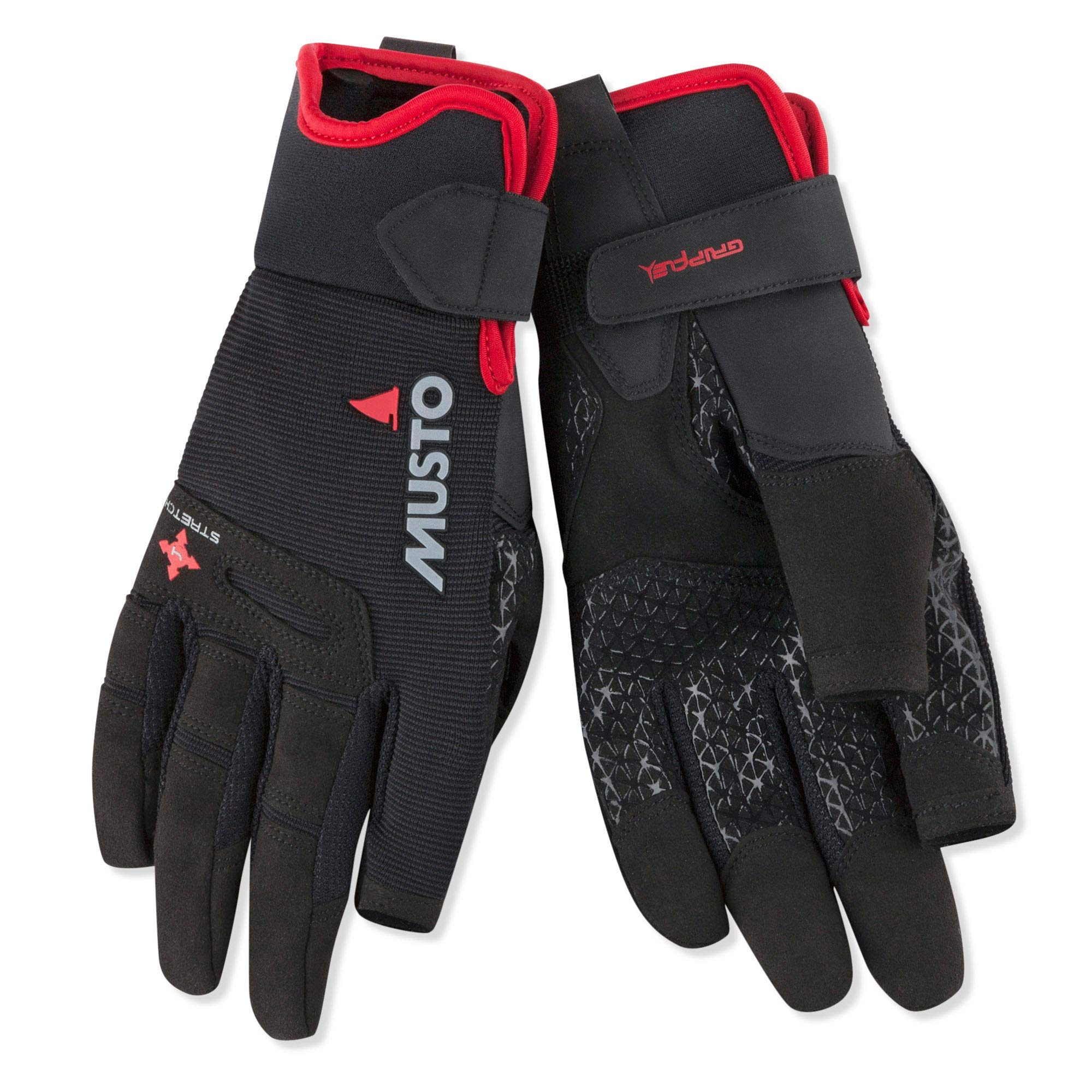 Musto Performance Long Finger Sailing Gloves - 2018 - Black XXL by Musto
