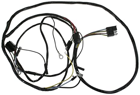 Amazon Com Mustang Headlight Wiring Harness W Lamps From Firewall