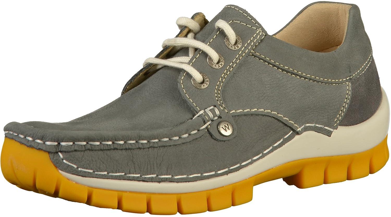 Wolky 04708-10209 - Zapatos de Cordones para Mujer 37 EU|Gris