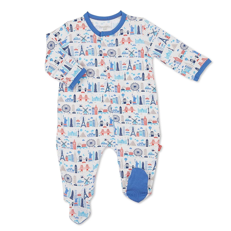 【感謝価格】 Magnificent lb) Baby SLEEPWEAR ユニセックスベビー NB (5-8 lb) Magnificent Blue (5-8 Globetrotter B07MTL3XYB, 川俣町:dee371bf --- arianechie.dominiotemporario.com