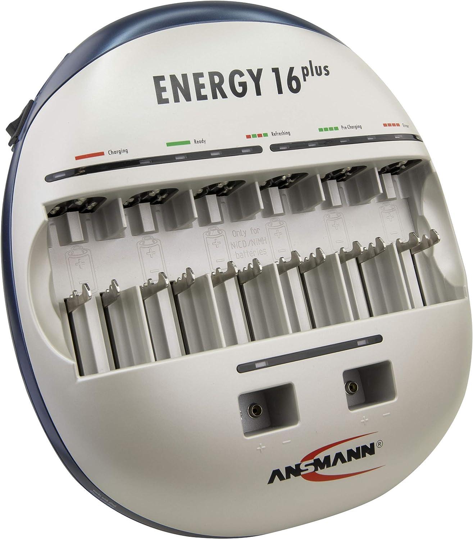 Ansmann Energy 16 Plus Akku Ladegerät Ladestation Für Elektronik