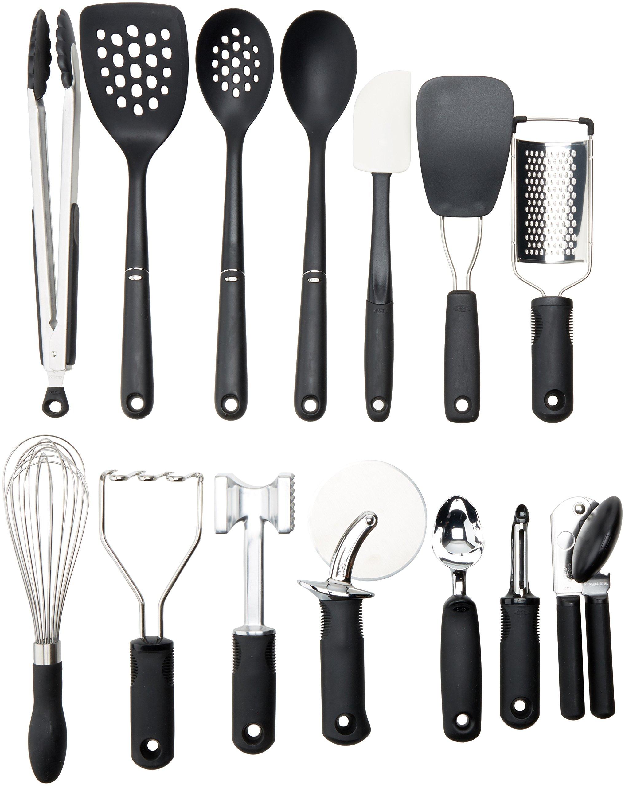 Galleon Oxo Good Grips 15 Piece Everyday Kitchen Tool Set