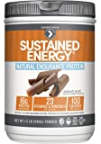 Designer Protein Sustained Energy Natural Endurance Protein, Chocolate Velvet, 1.5 Pound