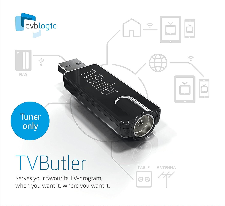 DVBLogic TVButler 100TC Tuner only - computer TV tuners (DVB-T2, DVB-C,  DVB-T, USB, USB)