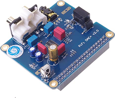 2B HIFI DAC Audio Sound Card I2S Interface Special PCM5122 Raspberry pi B