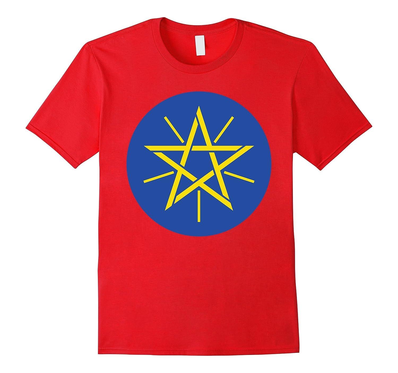 Ethiopia Flag Emblem, Ethiopian National Symbol Shirt-FL