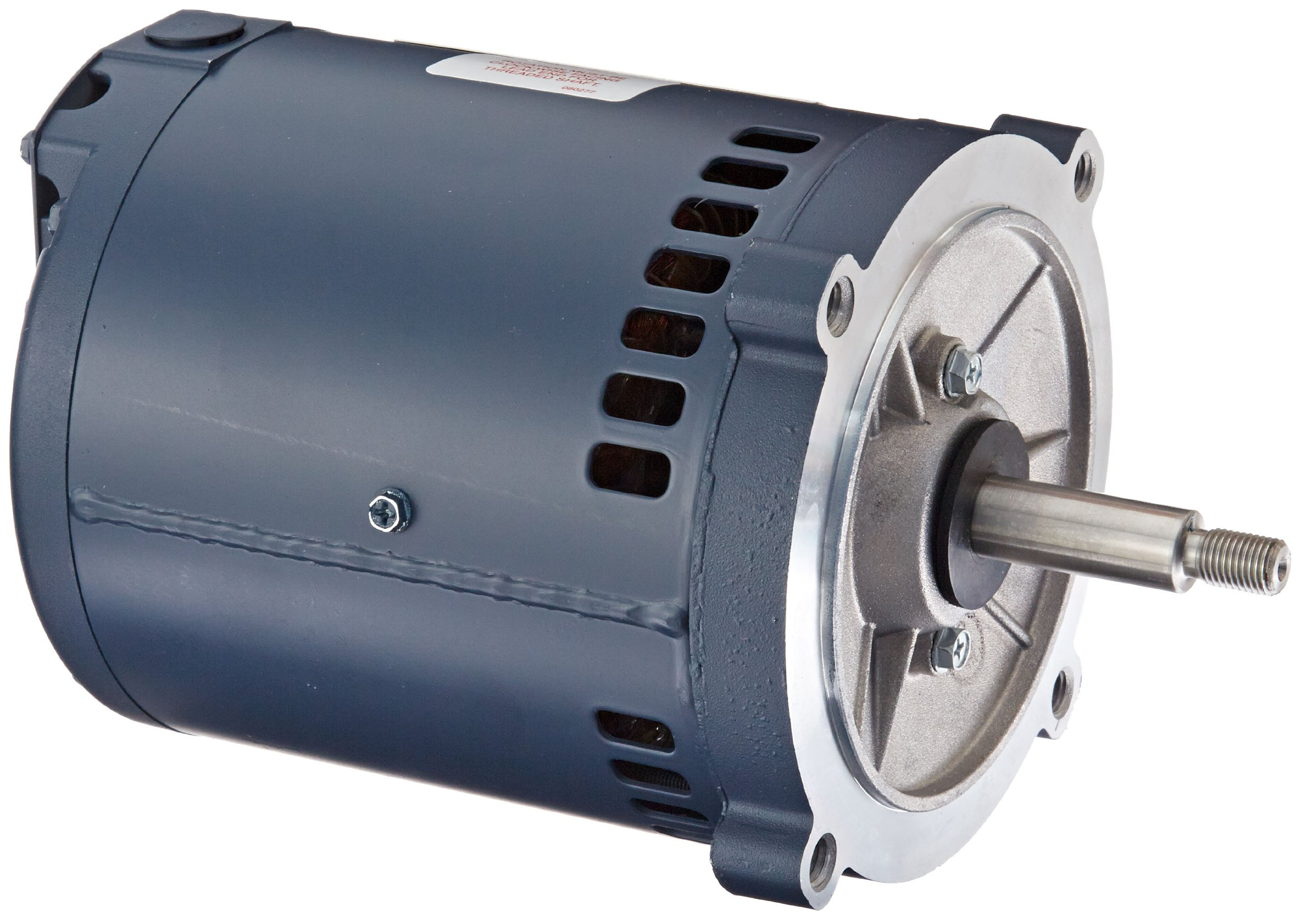 Leeson 102198.00 Jet Pump Motor, 3 Phase, S56J Frame, Round Mounting, 1/2HP, 3600 RPM, 208-230/460V Voltage, 60Hz Fequency