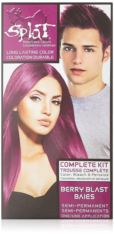 Amazon Splat Semi Perm Hair Color Berry Blast Color