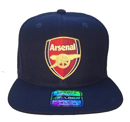 0b381a6c80118 Amazon.com   World Cup England Arsenal Football Futbol Club Soccer Blue  Ball Cap Hat SNAPBACK   Everything Else