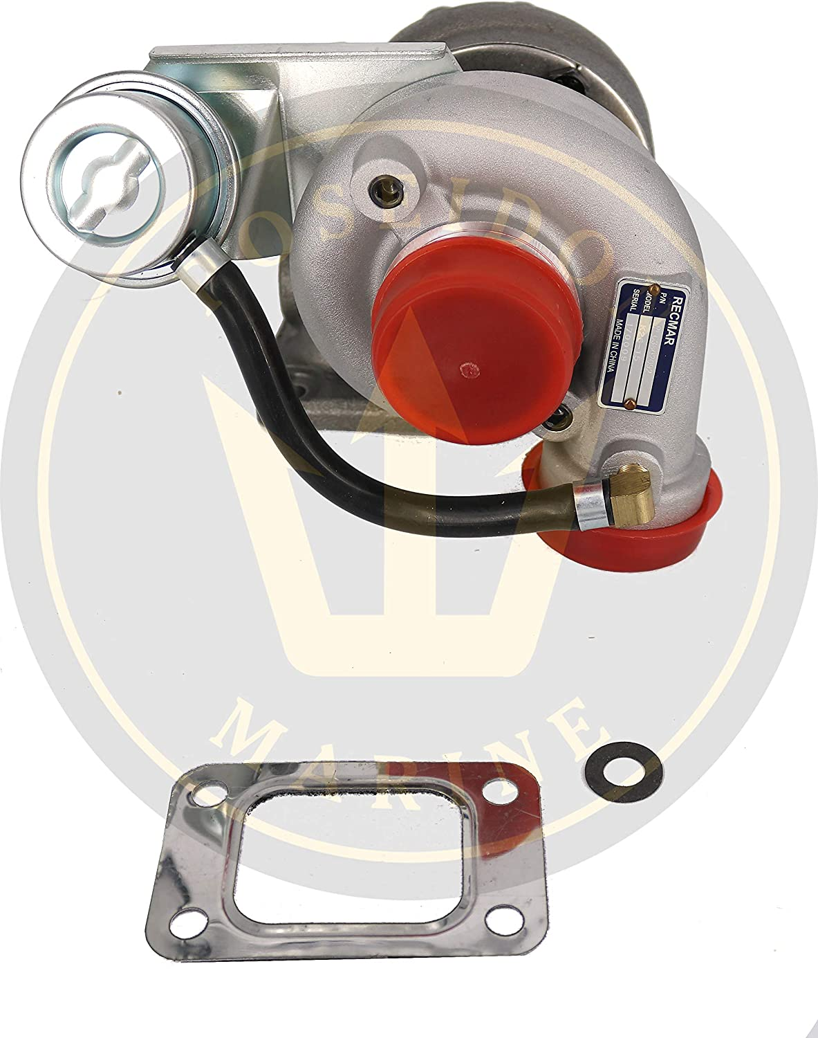 RECMAR Turbo for Volvo Penta TAMD22P-B TMD22A, B, P-C, Replaces 3802092 3581150 861407