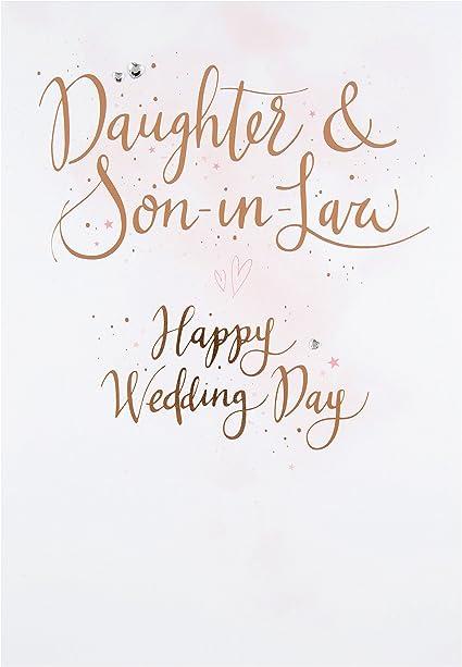 Amazon.com: Hallmark – Tarjeta de hija y Hijo en la ley ...