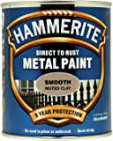 Hammerite SFMC750 750ml Direct to Rust Smooth Finish - Muted Clay