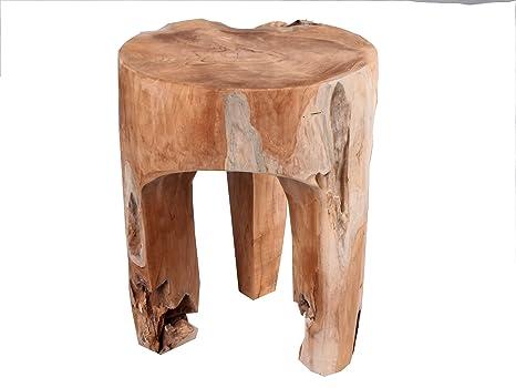 Set di sgabelli in legno sabrina naturale cm arredi