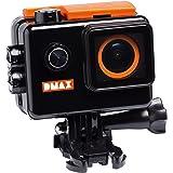 DMAX 4k Full HD Action Kamera mit Zubehör schwarz